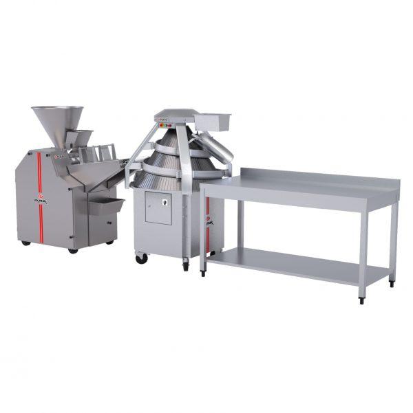 Roll-Hamburger Bread Machine Set